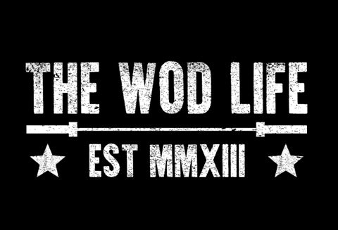 The WOD Life - Barbell Club 2.0 - Front - White