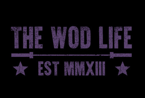 The WOD Life - Barbell Club 2.0 - Front - Purple