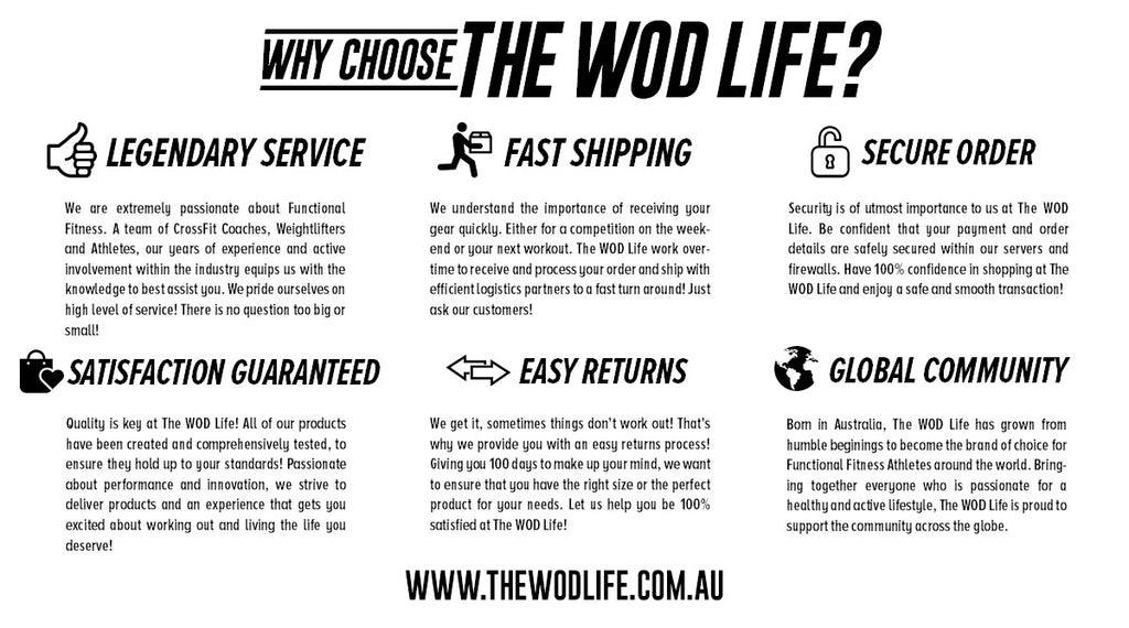 WHY CHOOSE THE WOD LIFE?