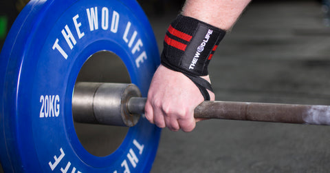 WOD Wrist Wrap 2.0 - Black/Red