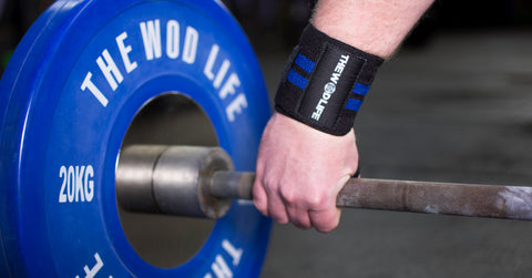 WOD Wrist Wrap 2.0 - Black/Blue