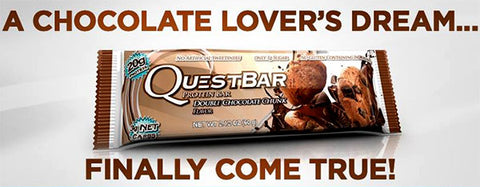 Quest Natural Protein Bar - Double Chocolate Chunk