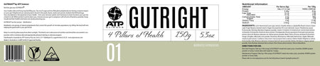 Supplements & Nutrition - ATP Science - GutRight - 150g