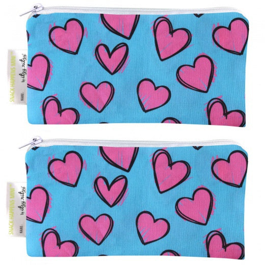 2 mini bolsas Itzy Ritzy happy hearts