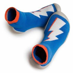 Calcetin/ zapatilla rayo Bowie/ Chaussons Heroes phospho Collegien