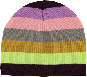 Gorro rayas  punto  Colder Girly Rainbow molo