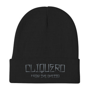 Cliquero Embroidered Beanie