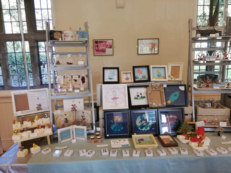 Craft Fair - Tissington Craft Fair 7th - 8th December 2019