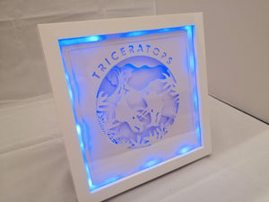 Triceratops light up frame