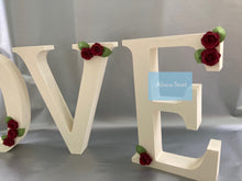 "Load image into Gallery viewer, ""Love"" wooden letters"