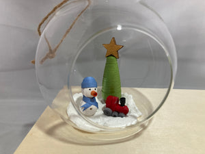 Small snowman bauble
