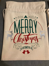 Load image into Gallery viewer, Christmas sack large