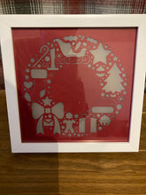 Load image into Gallery viewer, Light up Christmas frame