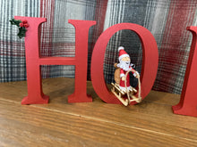 Load image into Gallery viewer, HO HO HO letters