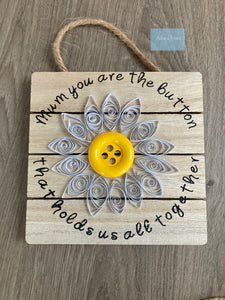 Mother's Day wooden plaques