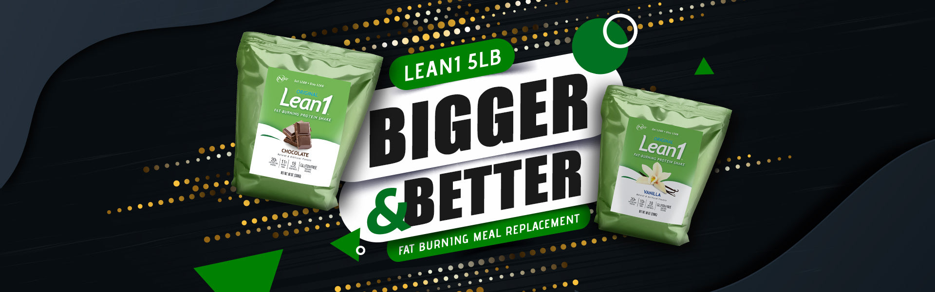 Lean1 5-lb Bigger and Better Fat Meal Replacement