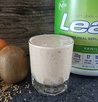 Lean1 Vanilla with Banana, Carrots and Kiwi Shake