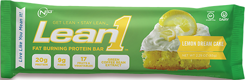 Lean1 Bar Lemon Dream Cake