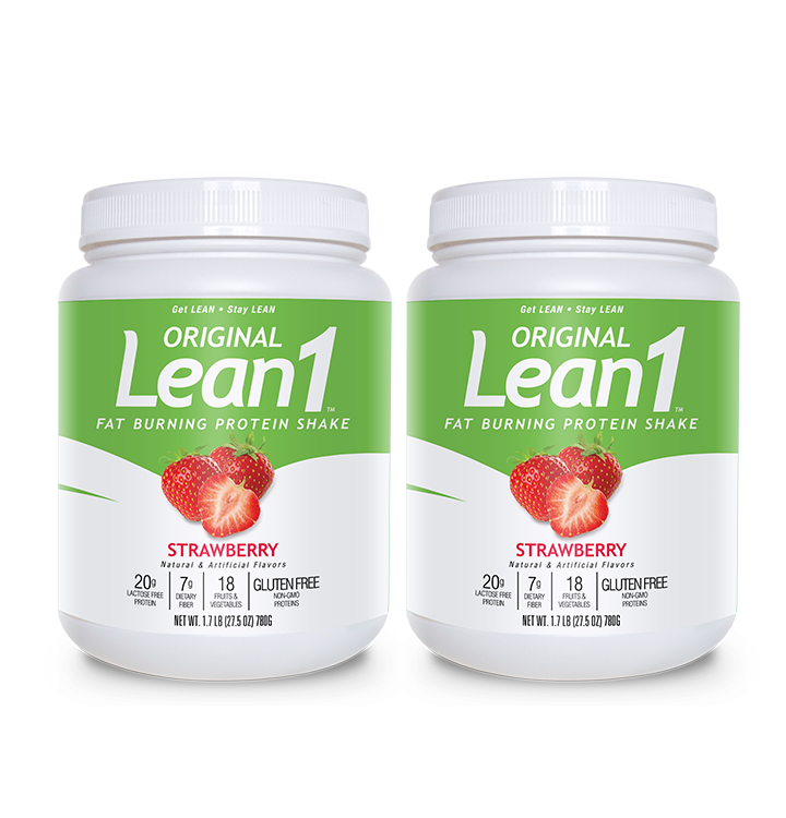 Lean1 Strawberry (2 tubs)