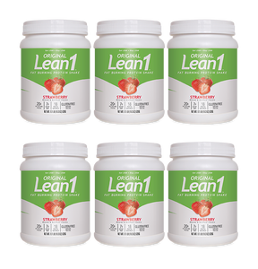 Lean1 Strawberry 10-serving tub (6 tubs)