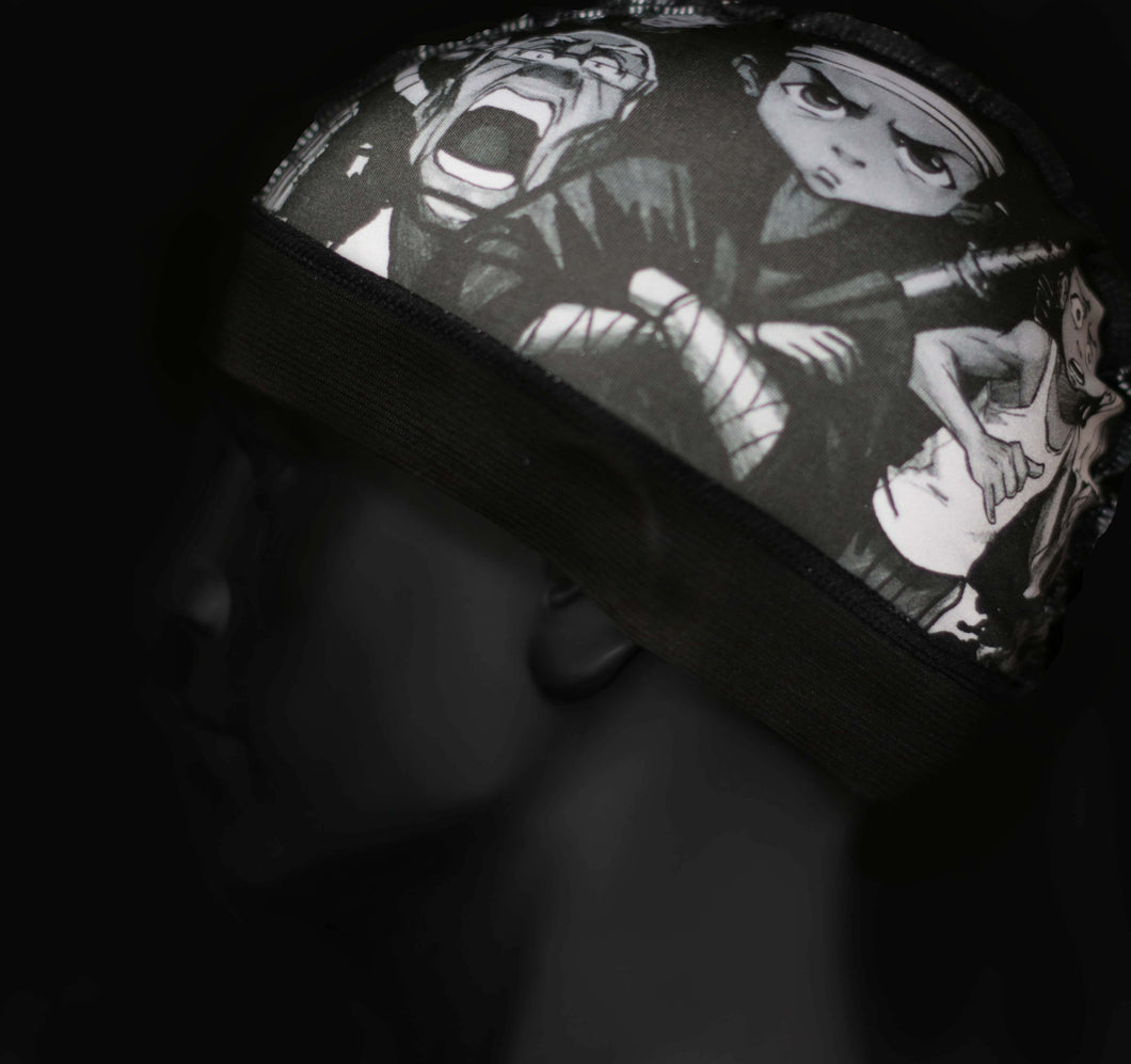 Black Inspired Anime Wave Cap - 3kingsmerch