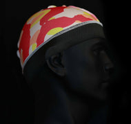 Red/Yellow camo wave cap - 3kingsmerch