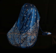 Royal Blue Bandana Designer Durag - 3kingsmerch