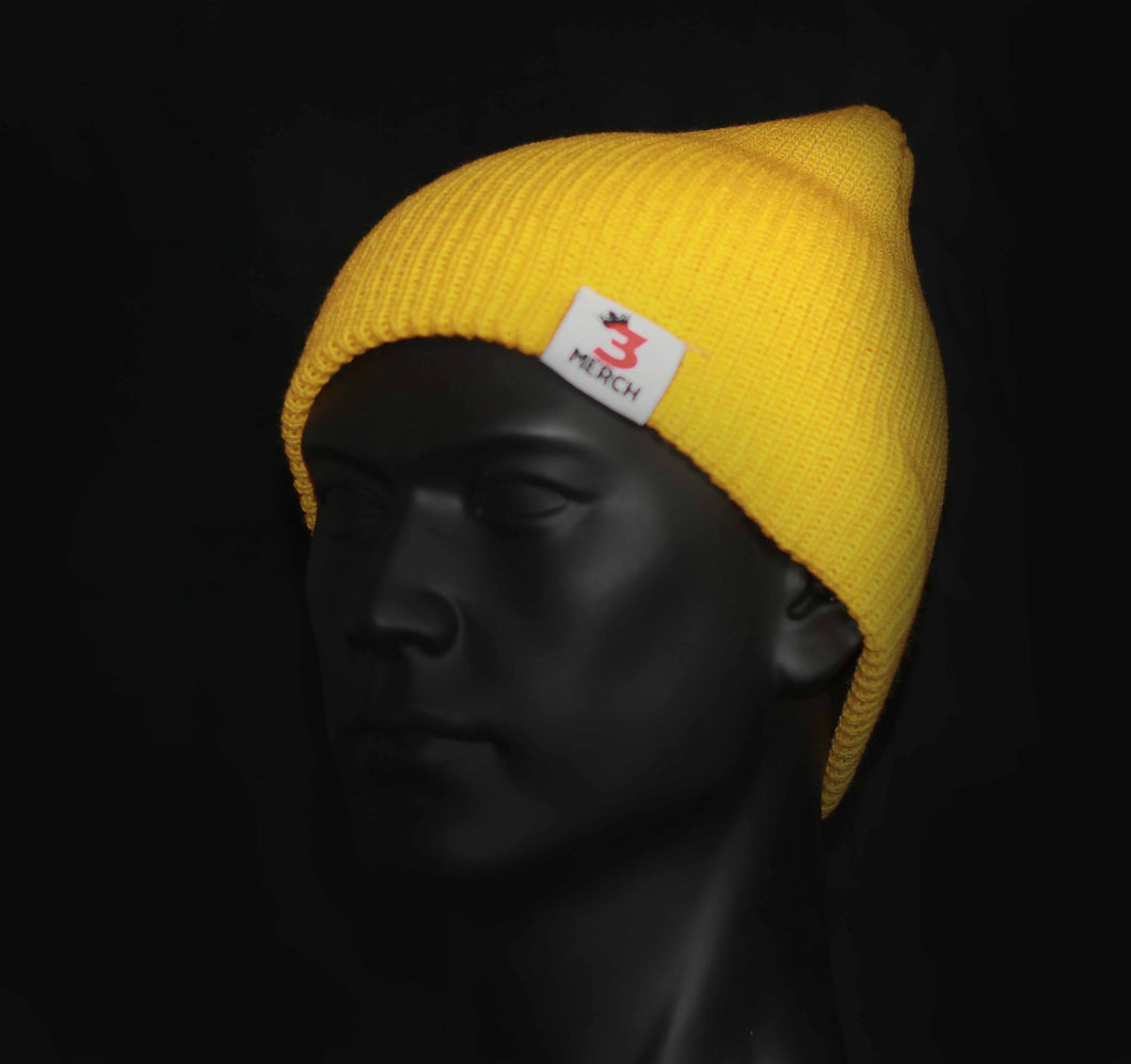 3Kings Yellow Skully/Beanie