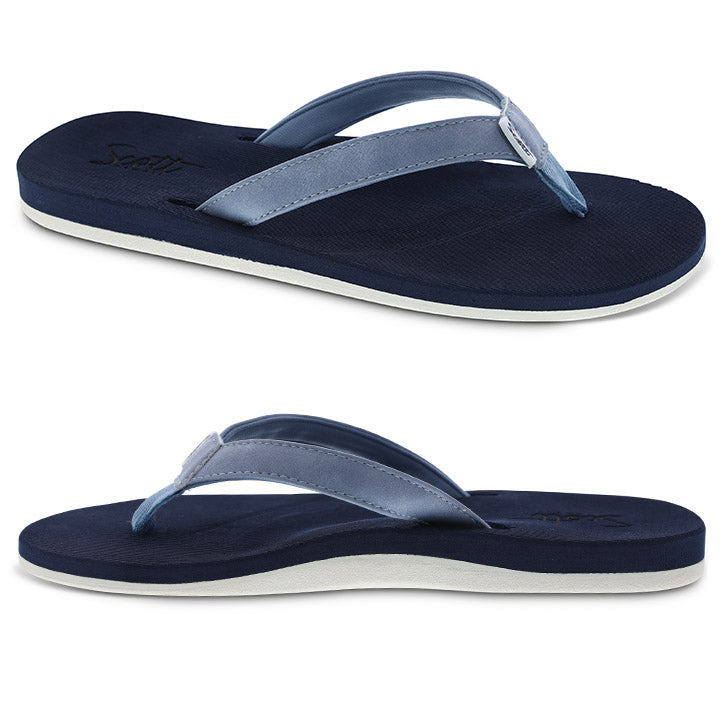 Women's molded sole sandal with arch support and heel cup