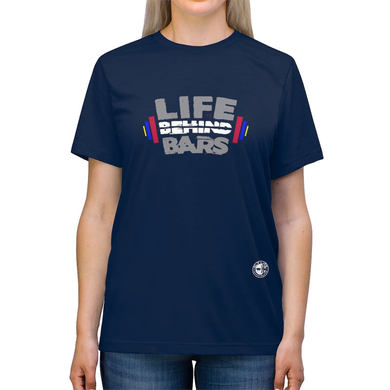 Unisex Triblend Tee- Life Behind Bars