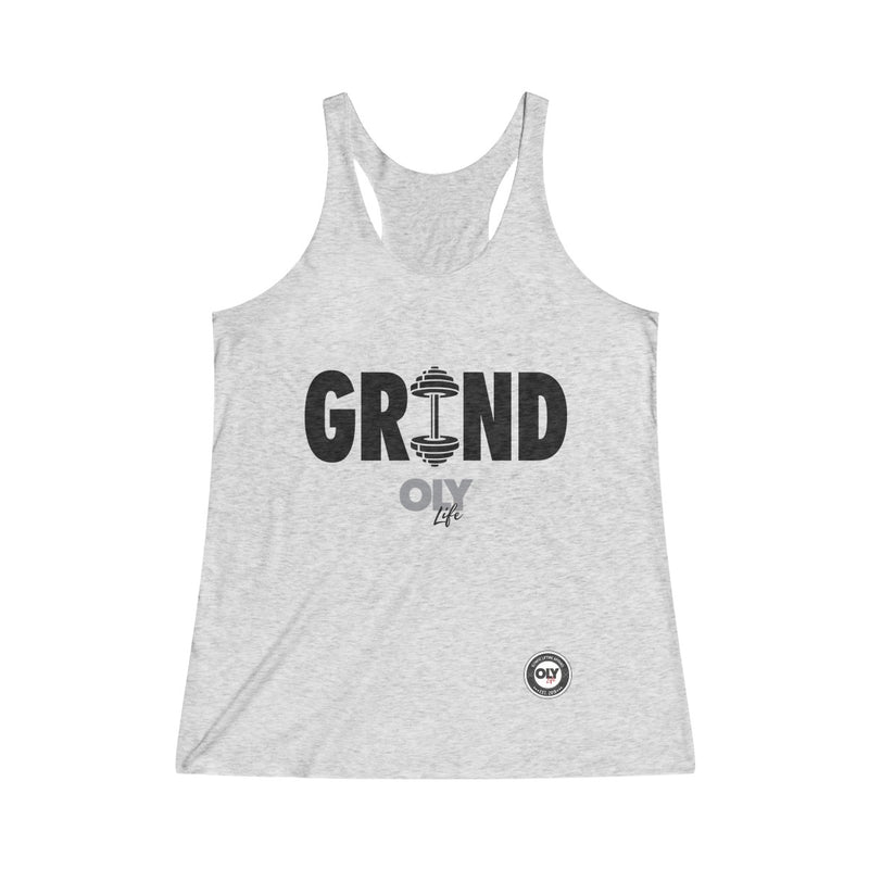 PERFORMANCE TANK- GRIND (Black Letters)
