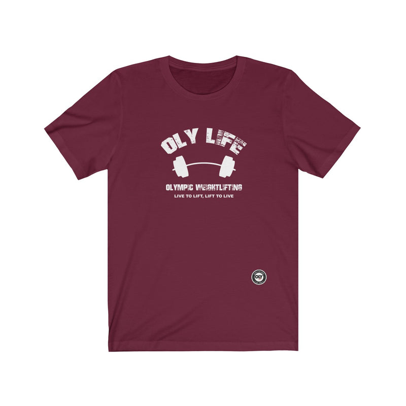 Men's T-Shirt - Oly Life Weightlifting