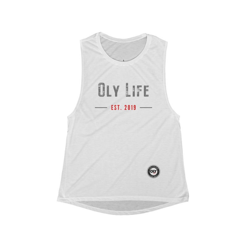 Women's Flowy OLY LIFE Scoop Muscle Tank