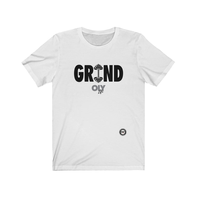 Men's T-Shirt Grind (Black Letters)