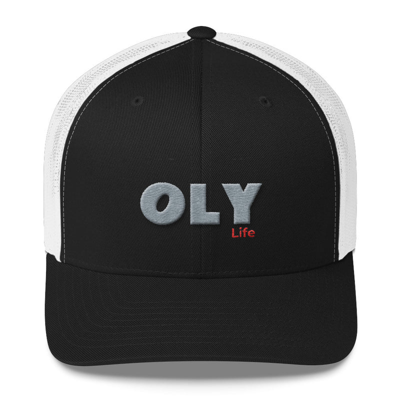 OLY Life Trucker Cap with 3D puff OLY