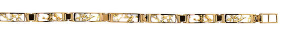 Women's Bracelet 5.5MM GOLD QUARTZ 7-L LC 7 1/4