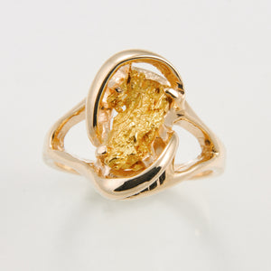 Women's Ring 784RL SM 1-GOLD NUGGET