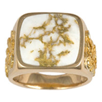 Men's Ring 1004RM GOLD QUARTZ NOL (938)