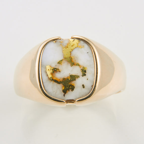 Men's Ring 1025RM GOLD QUARTZ
