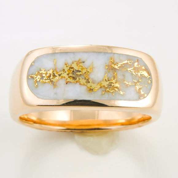 Men's Ring 816RM GOLD QUARTZ