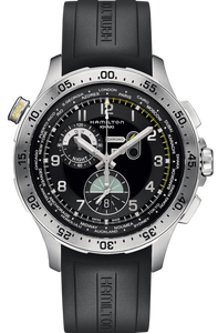 Khaki Aviation Worldtimer Chrono Quartz