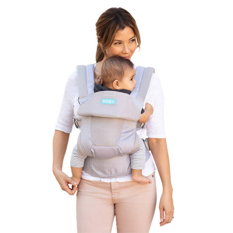 Moby Baby Move Carrier- Glacier Grey