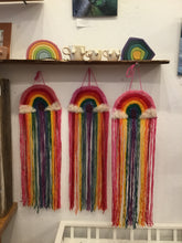 Load image into Gallery viewer, Wool Rainbow Wall Hanging