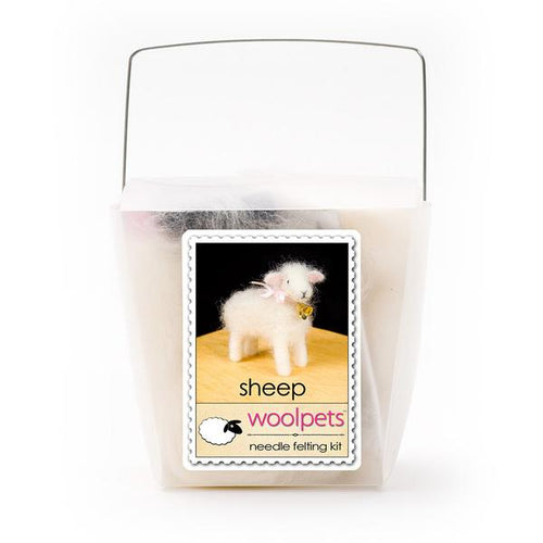 Wool Pets Felting Kit- Sheep