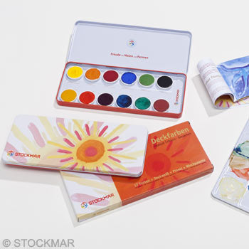 Stockmar Watercolor 12 Opaque Colors
