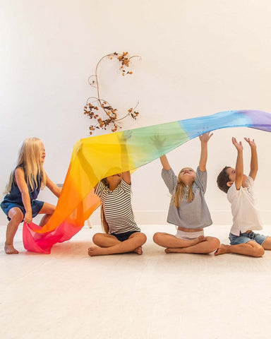 Giant Rainbow Playscape Silk