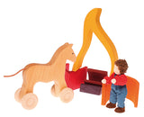 Grimm's Large Fire Nesting Stacker
