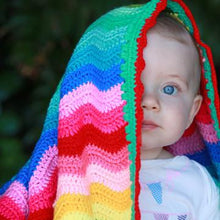 Load image into Gallery viewer, Sale ! Rainbow Baby Blanket