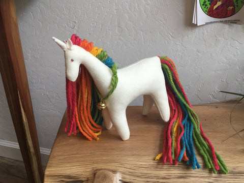 Ivory Rainbow Unicorn