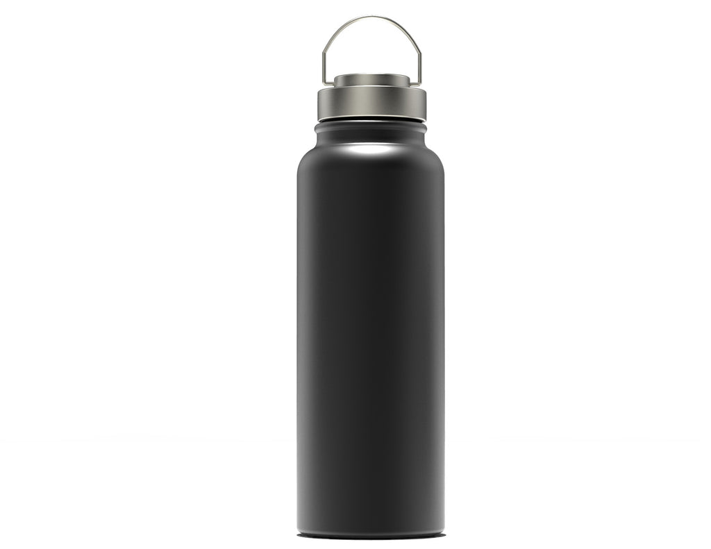 40 oz Insulated Stainless Steel Growler / Water Bottle